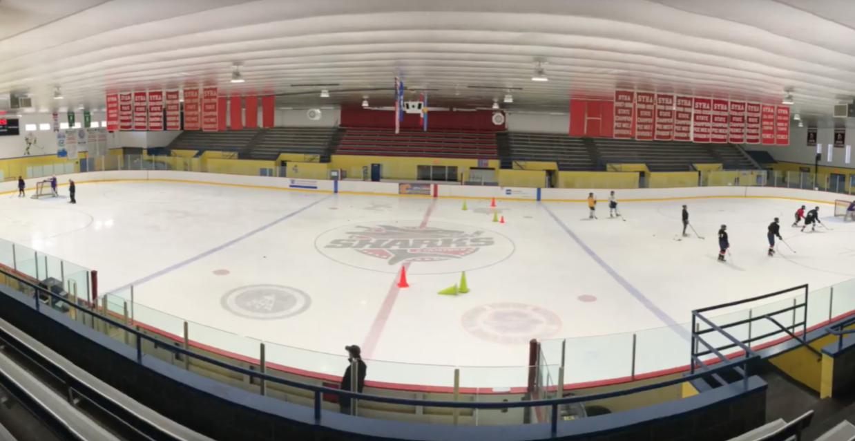Girls' ice hockey skates into a new season