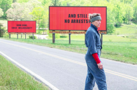 """Three Billboards Outside Ebbing, Missouri"" enchants audiences everywhere"