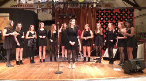 Acapella groups perform at Toquet Hall for Homes With Hope organization
