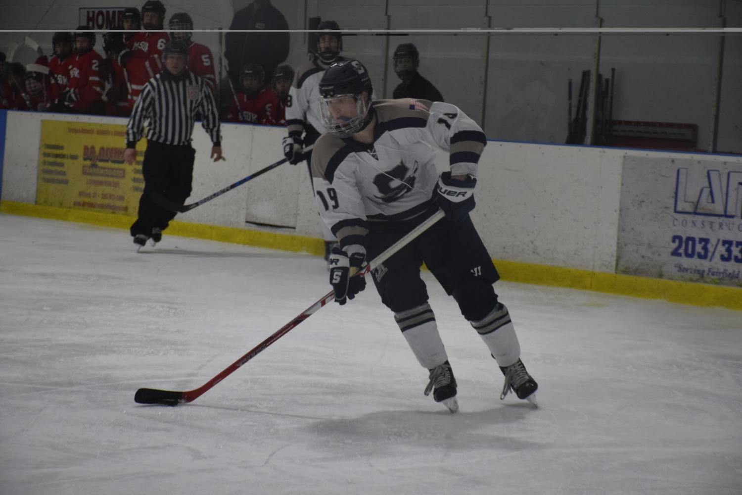 Wreckers Roll Over Cadets in Surprising Boys' Hockey Blowout
