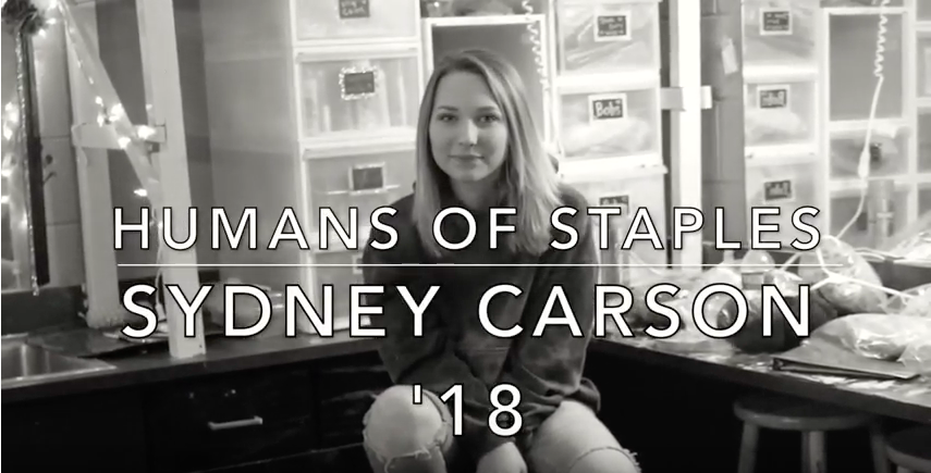 Humans of Staples: Carson Discovers Herself and the World Through Film