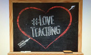Students articulate appreciation for teachers in honor of #loveteaching campaign