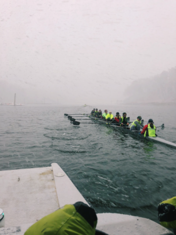 Saugatuck Rowing Club races at the San Diego Crew Classic