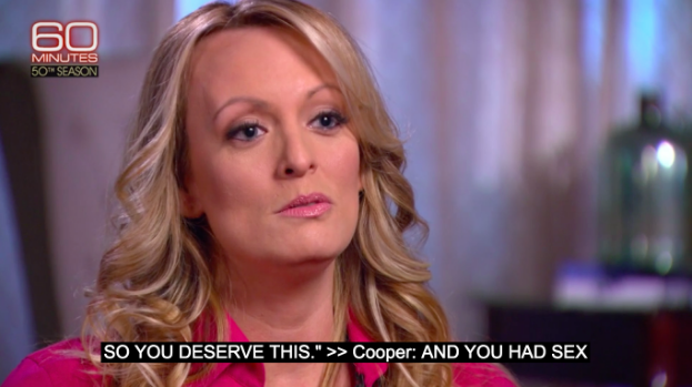 Stormy Daniels did not say 'no'