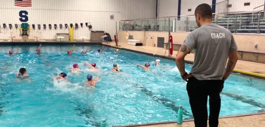 Staples Girls Water Polo begins 2018 season