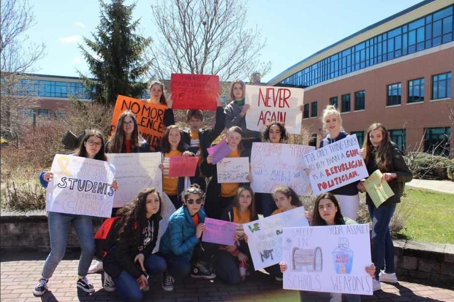 #NationalSchoolWalkout