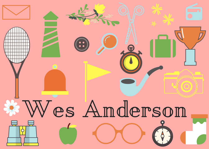Wes Anderson's style of directing
