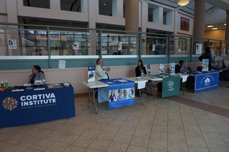 Post high school options fair promotes alternative career options