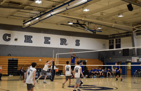 Staples JV Boys Volleyball Wrecks Rockville 2-1