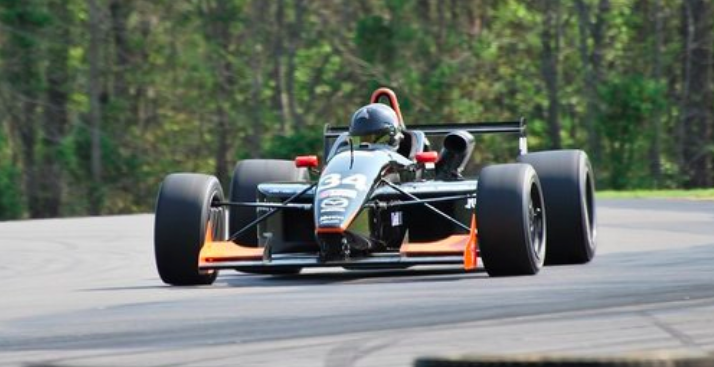 Spencer Brockman speeds off into professional racing