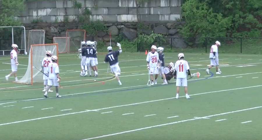 Boys' lacrosse defeats Mamaroneck in overtime thriller