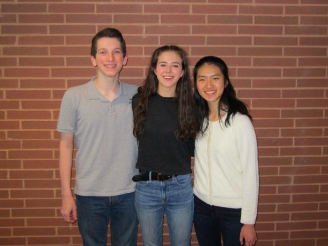 Three juniors venture to Singapore as U.S. delegates