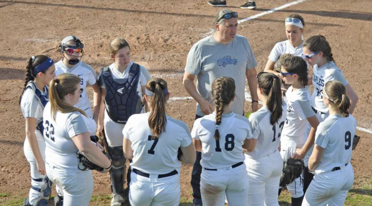 Complaints lead to suspension of softball coach