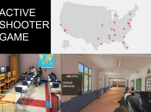 "Kids play as school shooter in new ""Active Shooter"" video game"