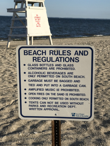 Compo Beach enforces new policies limiting beach activities