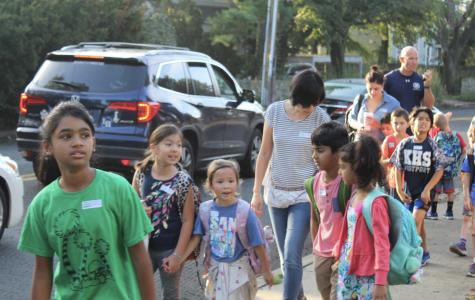 Kings Highway Elementary celebrates 2018 International Walk to School Day