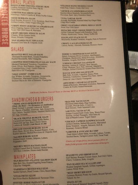 Spotted Horse excels in American cuisine