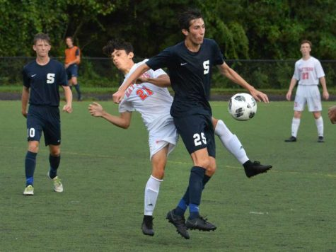 Staples boys' soccer makes final push towards the FCIAC title