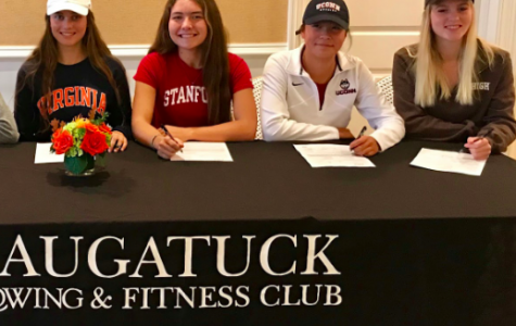 Girls of Saugatuck Rowing Club officially sign to college