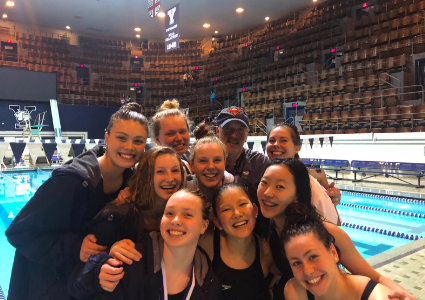 Girls' swim takes fifth-place in State Opens