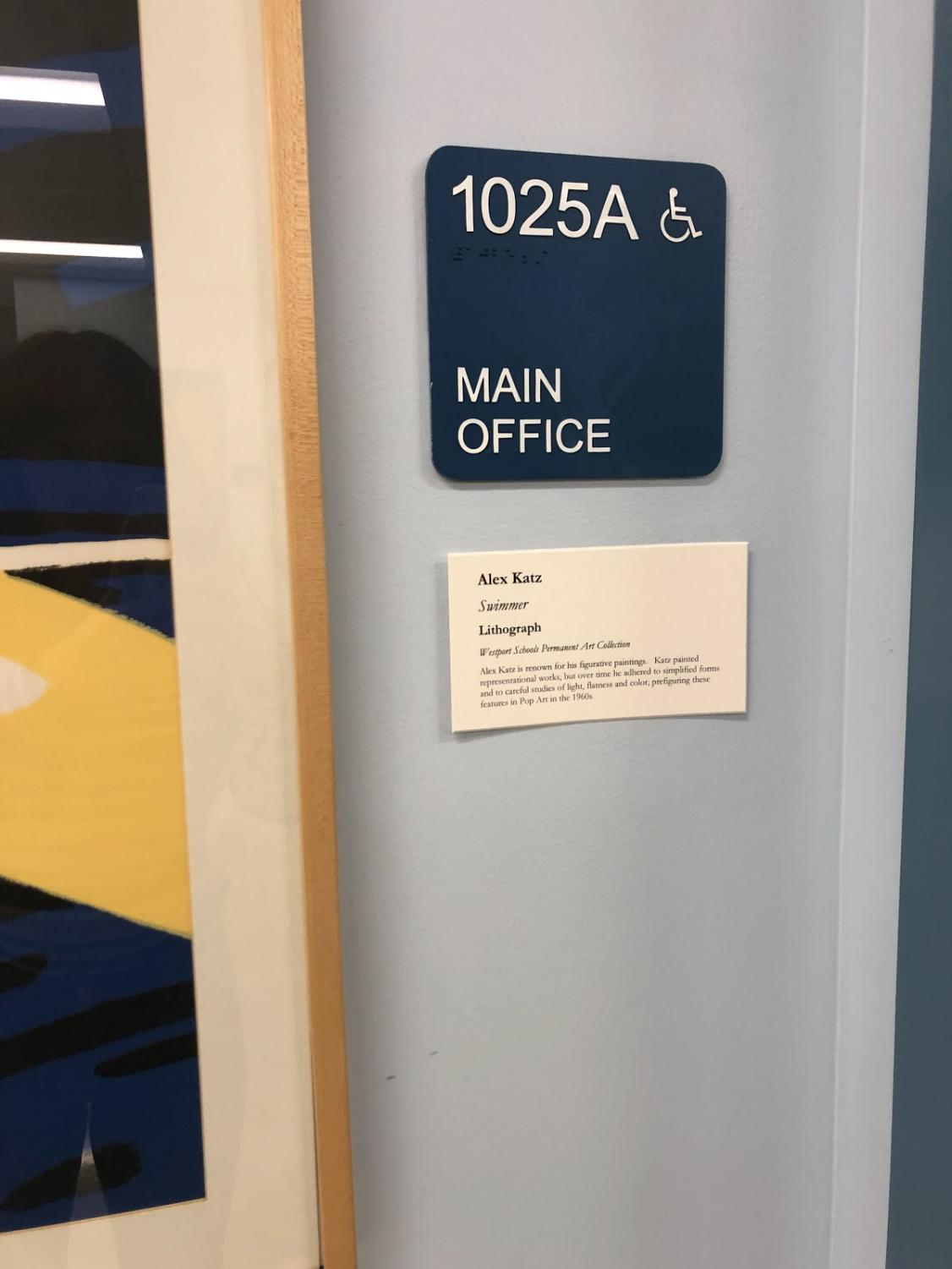Where the magic happens: The main office houses the Staples administrators and grade level assistants that make the rules of what happens at Staples.