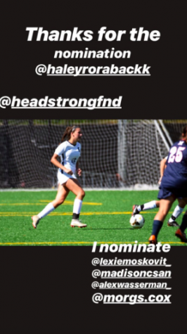 Headstrong supports cancer awareness with an Instagram post