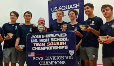 Boys' squash captures HEAD national championship