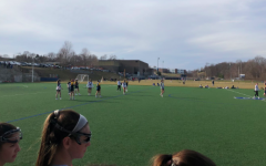 Staples girls' lacrosse takes the win over Weston high school 11-5. This is the final game of preseason before they take on Rye High School.