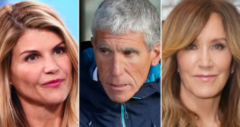 Lori Loughlin (left) and Felicity Huffman (right) were two high profile celebrities involved in the admissions scandal. William Singer (center) was the central figure in orchestrating the cheating scandal.