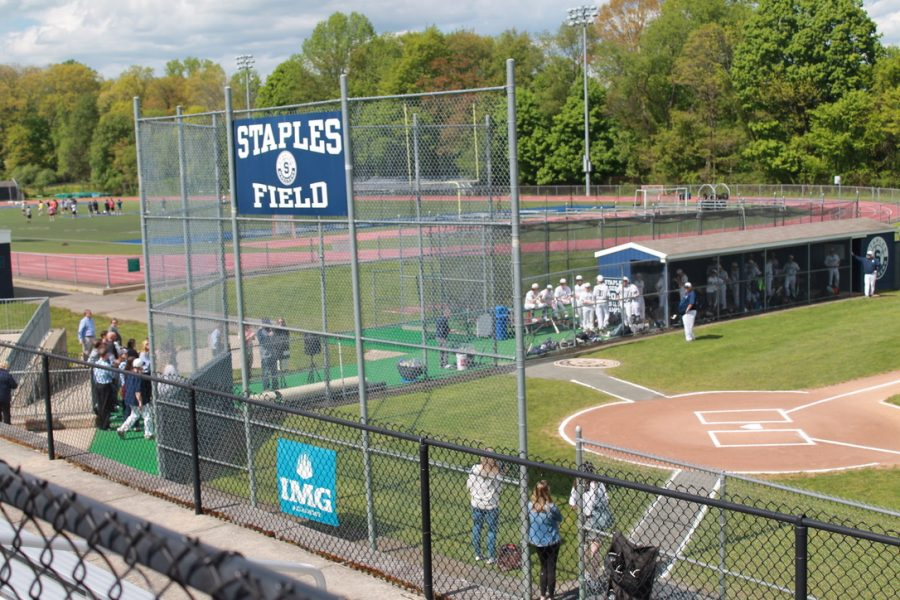 The+Staples+boys%E2%80%99+baseball+team+celebrated+their+senior+day+on+Friday%2C+May+16.+