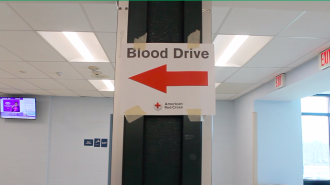 The+Key+Club+hosted+a+blood+drive+at+Staples+due+to+an+emergency+shortage+of+blood.