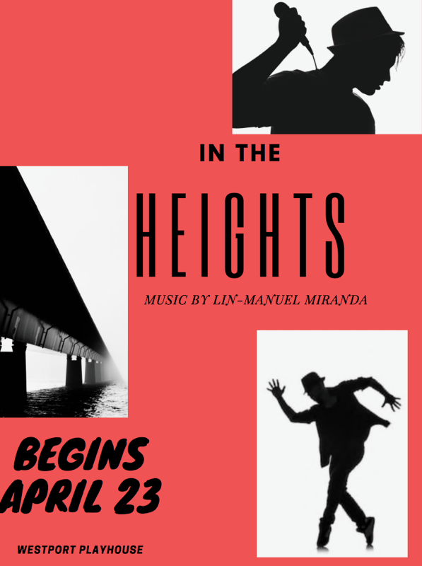 """The off-Broadway production of """"In the Heights"""" is showing at The Westport Country Playhouse until May 19."""