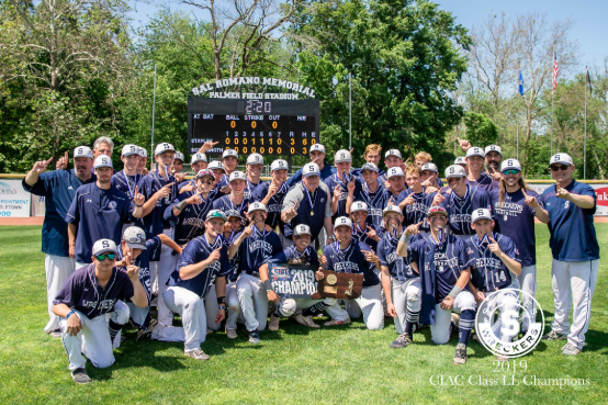 After winning the Class LL State title, the Staples Varsity Baseball team is said to be the most successful in Staples' history.