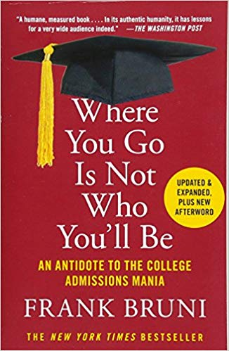 Frank Bruni explains how twisted the college admissions process has become. Between test prep, tutors and a whole lot of anxiety, Bruni offers a different view on a subject that has swept America.