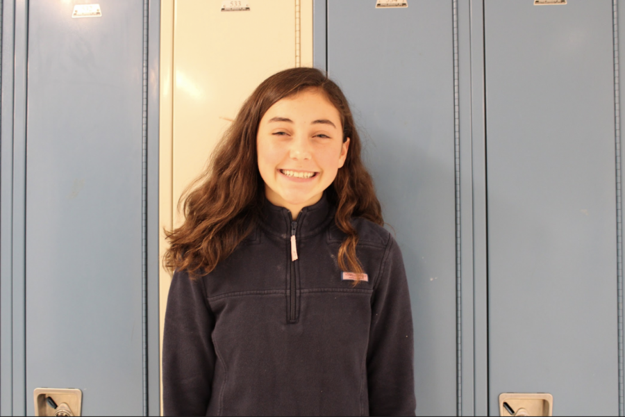 """Elle Vail '23 is a published author at the age of 14. She wrote two books, Running to Willow"""" and """"Adverse Wishes,"""" available for purchase on Amazon, and the Barnes and Noble website."""