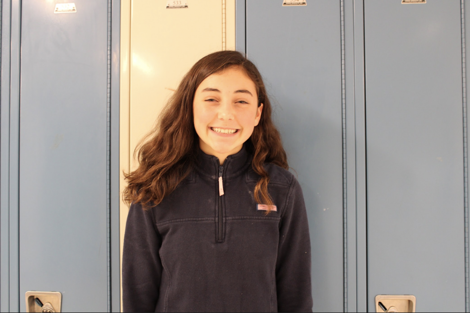 Elle Vail '23 is a published author at the age of 14. She wrote two books,