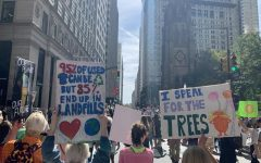 Thousands of people of all ages took to the streets in the Climate Strike in NYC on Sept. 20 to fight for environmental causes.