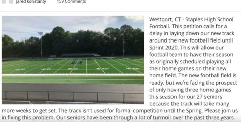 Debate over Staples' football field grows