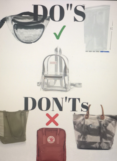 Rolling Loud will now only allow small clear bags into the festival, other types of bags are prohibited.