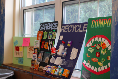 Some Westport elementary schools such as Greens Farms have started composting and becoming more environmentally conscious in their cafeterias. With the help of some passionate teachers and students, composting could be integrated into the Staples cafeteria in the near future.