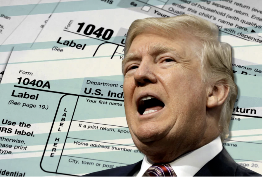 The+recent+New+York+state+ruling+allows+investigators+to+view+President+Donald+Trump%E2%80%99s+past+eight+years+of+tax+returns.+This+may+reverse+the+long-standing+precedent+of+the+Justice+Department+that+allows+for+executive+immunity+for+sitting+presidents.+