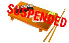 Matsu sushi closes due to sales tax suspension
