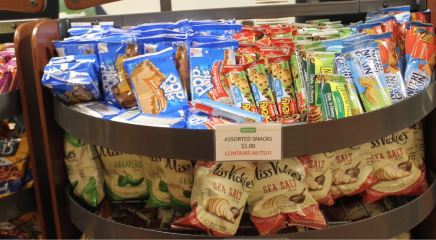 The Staples cafeteria offers a wide variety of nutrition bars such as Nature Valley bars, Cliff bars and Chewy bars. These bars are loved by Staples students as quick snacks before a test or sports practice.