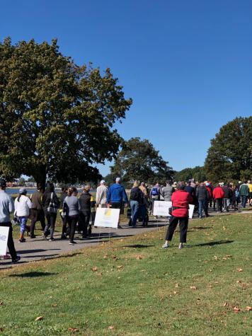 Parkinson's Optimism Walk 2019 fosters community