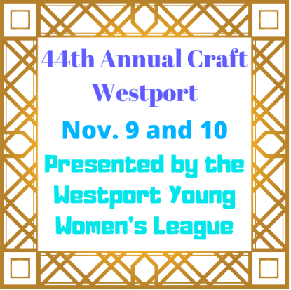 Craft Westport is the largest indoor fine art and craft event in Connecticut, and features beautiful pieces of art and clothing, as well as food and fun.