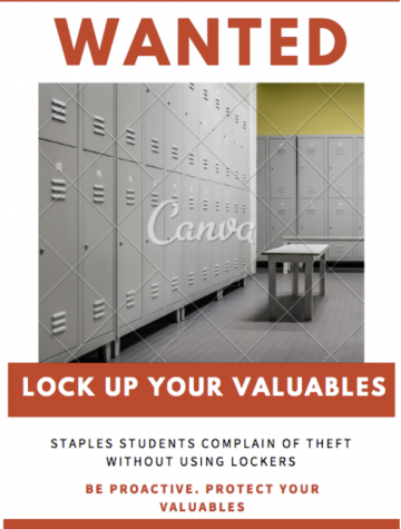 Rise in theft highlights failure of students to use gym lockers
