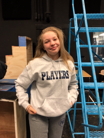 Maisy Boosin '21, who plays Lisa, is always eager to talk about the upcoming Staples High School Play. The players practice their shows everyday in the black box theatre inside Staples High School for hours on end.