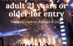 People who are 17 and under cannot enter the festival unless accompanied by an adult. This new age policy will begin next year at the 2020 music festival.