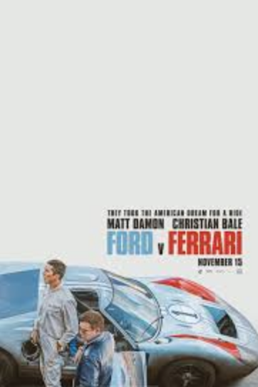 Ford v Ferrari hits the box office and gains a 92% rating on Rotten Tomatoes.