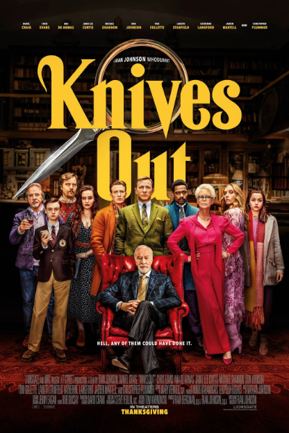 """""""Knives Out"""" has made very much news with the great reviews its gotten -- thus far, the  production has earned over $129 million."""